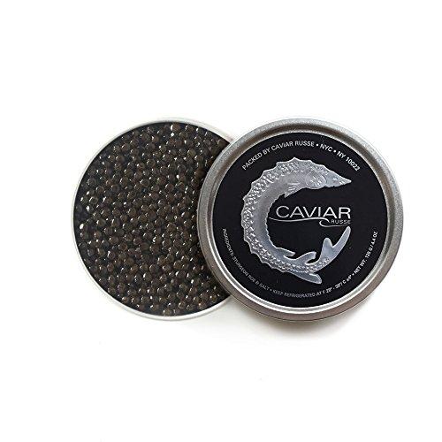 Caviar Russe Classic Osetra Caviar, Caspian Sea Caviar, 1.75 oz (Acipenser (Caspian Osetra Caviar)