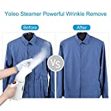 Clothes Steamer, Yoleo Handheld Steamers for Clothes, Garment Steamer Powerful Wrinkle Remover,Clean,Sterilize. 100% Safety Travel Steamer Fast Heat-Up Easy to Carry and Use for Home/Travel