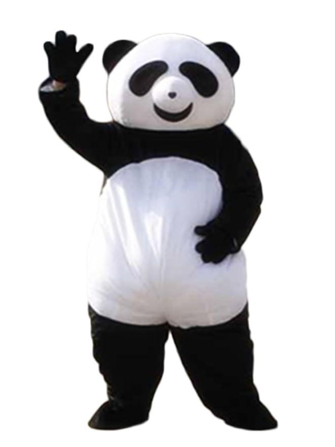 Amazon.com: Bonito disfraz de máscara de panda para adultos ...