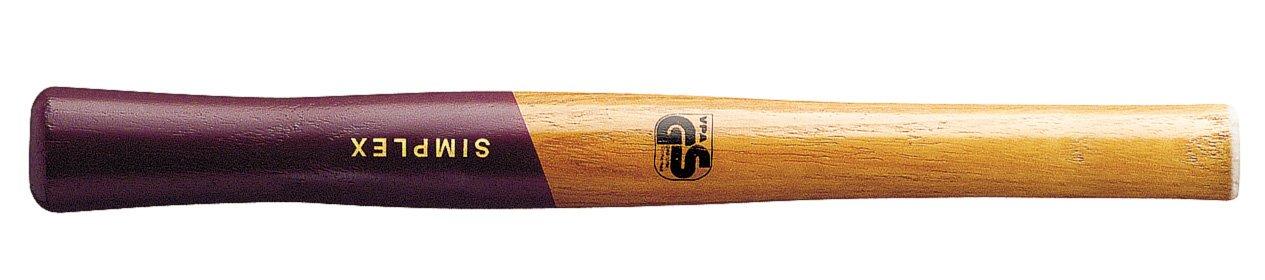 SIMPLEX-hochwertiger Holzstiel, fü r SIMPLEX-Schonhä mmer mit Stahlguss- oder Aluminiumgehä use | Ø =60 mm | 3244.060 Halder 3244060