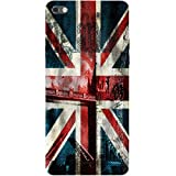 Casotec London Flag wallpaper Design 3D Printed Hard Back Case Cover for Micromax Canvas Sliver 5 Q450