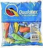 LA Balloons 37153''Jungle Animal'' Qualatex Assortment Latex Balloons (50 Pack), 11'', Multicolor