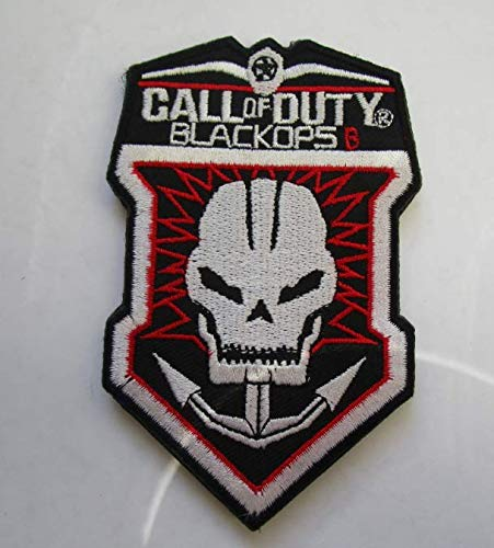 Call of Duty: Black Ops Military Patch Fabric Embroidered Badges Patch Tactical Stickers for Clothes with Hook & Loop -