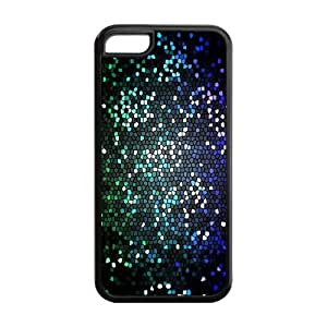 Gothic Church Stained Glass Window Pattern IPhone 5C Protective Case Hot Sale Black/ White.