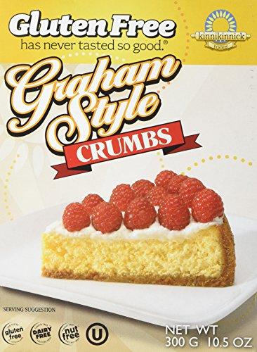 Kinnikinnick Crumbs - Graham Style Gluten Free, 10.5-Ounce (Pack of 6) ()