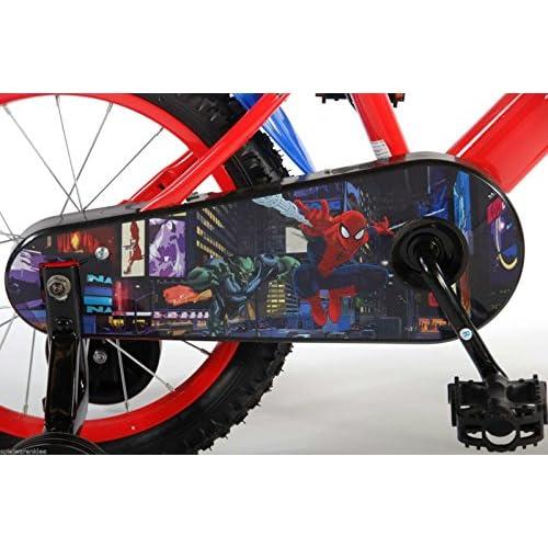 Vélo Licence Man Pour Spiderman Spider Enfant 16 roeBdCx