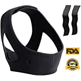 Agetp Anti Snoring Chin Strap Anti Snoring Devices Anti Snoring Solution Mouth Breathers Stop Snoring Sleep Aid For Men and Women