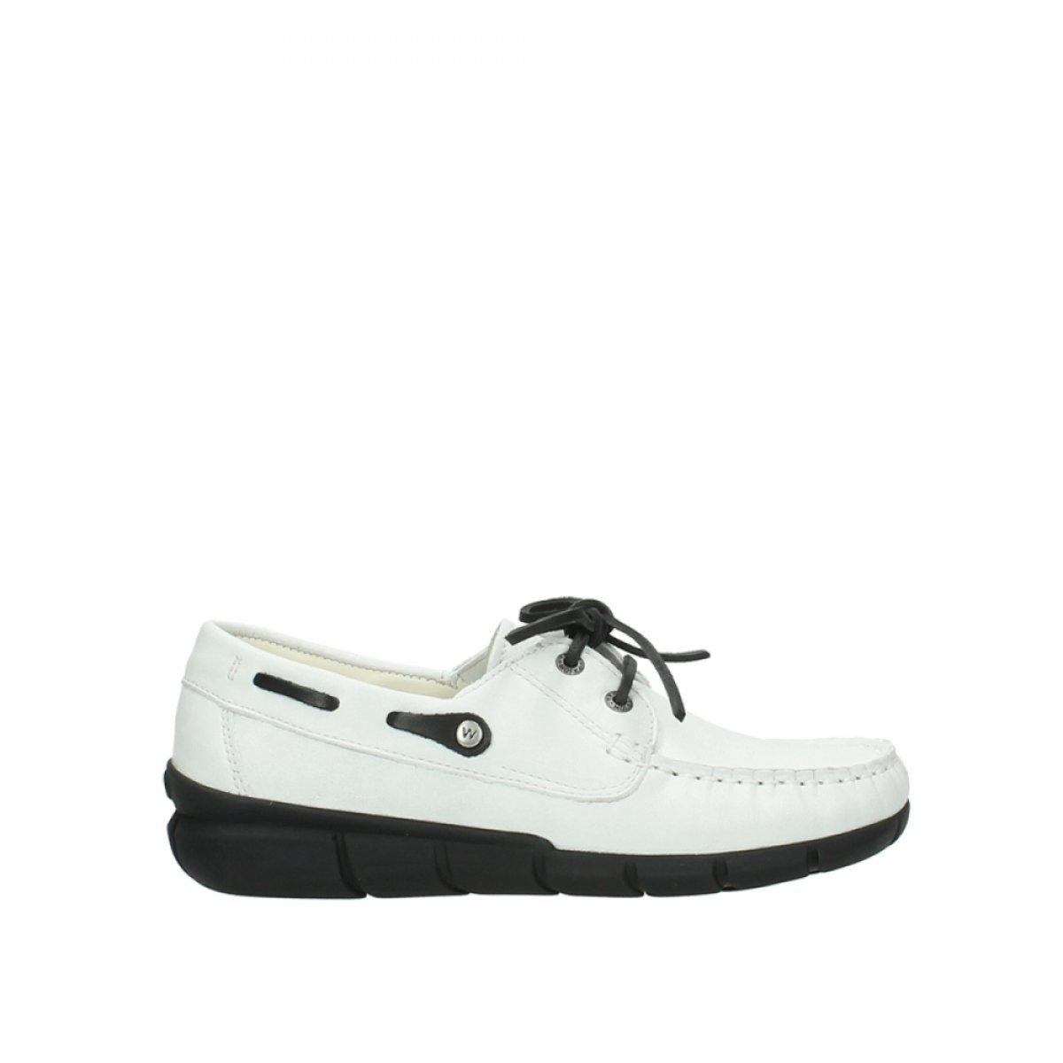 710 710 Blanc& x178; Leder Wolky Comfort Chaussures à Lacets 01509 Cahita  magasin fashional à vendre