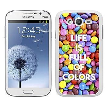 Funda carcasa para Samsung Galaxy Grand NEO Plus frase Life ...