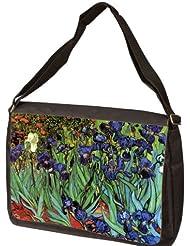 Irises By Vincent Van Gogh Laptop Shoulder Bag
