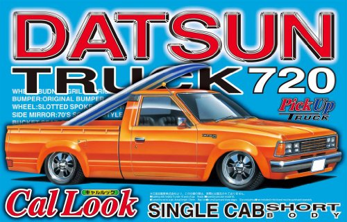datsun plastic model kit - 3