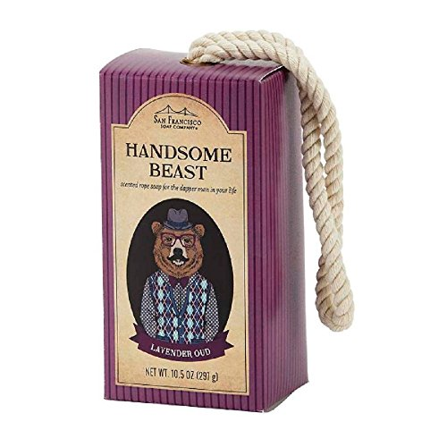 san-francisco-soap-company-handsome-beast-rope-soap-dapper-lavender-oud-105-ounce