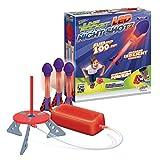 Jump Rocket LED Night Shotz - Jump Pump, Launcher & Light-Up Flying Foam Rockets