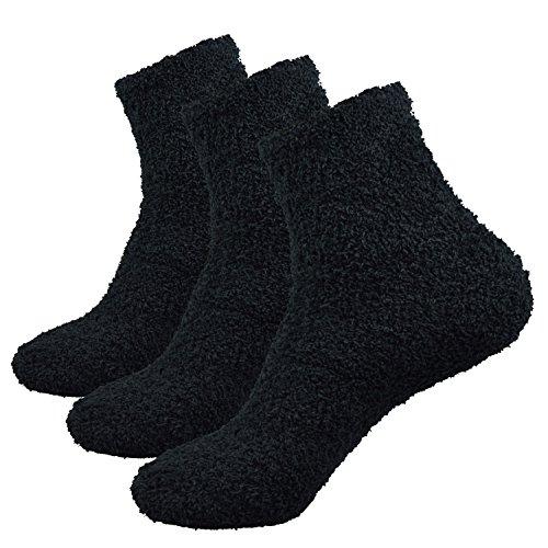 50de97783d91 Fitu Mens Fuzzy Socks 3 pack product image
