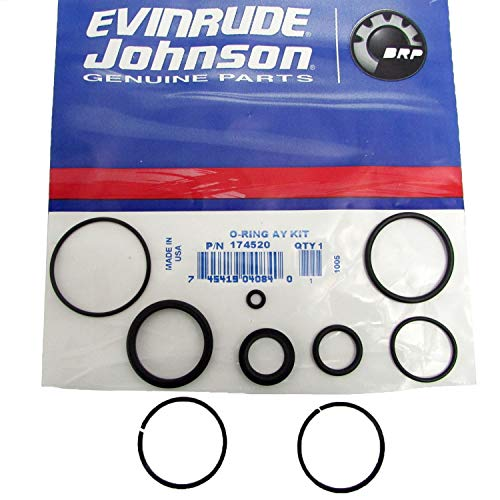 Johnson/Evinrude/OMC New OEM TRIM & TILT O-RING REPAIR RESEAL KIT 0174520 -