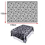 Halloween Decoration Lace Spider Web Tablecloth Mantelpiece Home Party Items(,I,F)