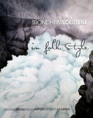 Blu-ray Audio : Trondheim Soloists (Trondheimsolistene) - Trondheimsolistene: In Folk Style (Hybrid SACD, Blu-Spec CD, 2 Disc)