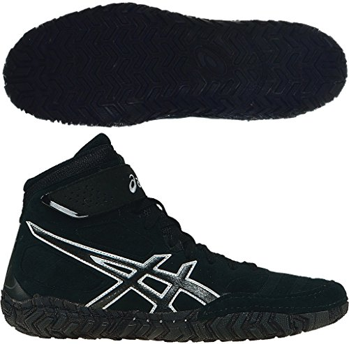 ASICS Aggressor 2 Mens Wrestling Shoes - Black-6.5 by ASICS
