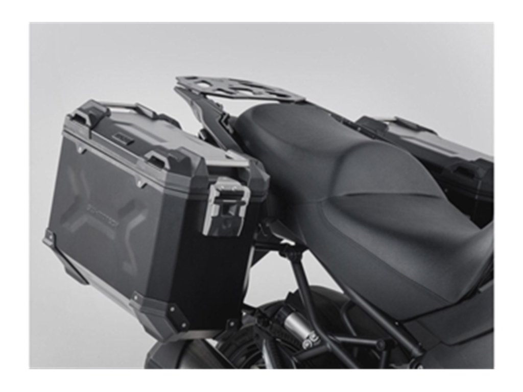 SW-MOTECH - Sistema de maletas TRAX ADV Negro. 37/37 L. Kawasaki Versys 1000 (15-).: Amazon.es: Coche y moto