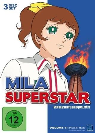 Mila Superstar - Vol. 3, Episode 56-80 (3 Disc Set)