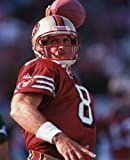STEVE YOUNG SAN FRANCISCO 49ERS 8X10 SPORTS ACTION PHOTO (A)