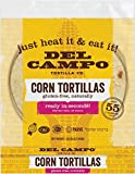 Del Campo Soft Corn Tortillas – 6 Inch Round 1 Lb. Bag. 100% Natural, Gluten Free and All-Corn Authentic Mexican Food. Many Serving Options: Wraps, Tacos, Quesadillas or Burritos, Kosher. (16ct.)