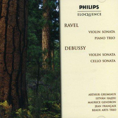 Grumiaux Trio - Ravel: Violin Sonata, Piano Trio / Debussy: Violin Sonata, Cello Sonata