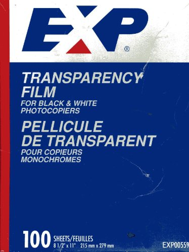 EXP Clear Transparency Film fo