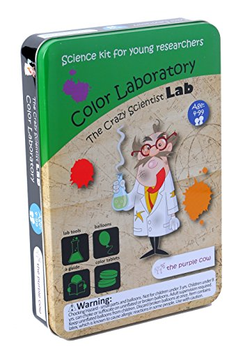 The Purple Cow Crazy Scientist Color Laboratory Kit