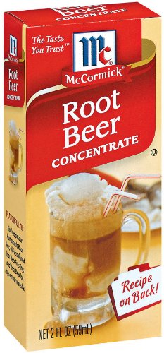 McCormick Natural & Artificial Flavored Root Beer Concentrate, 2 fl oz (Pack of 6)