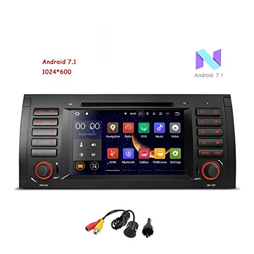 MCWAUTO Android 7.1 Car Stereo For BMW E39 E53 M5 X 5 Car Radio Audio 7