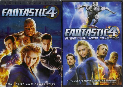 Fantastic 4 , Fantastic 4 Rise of the Silver Surfer : 2 Pack Collection