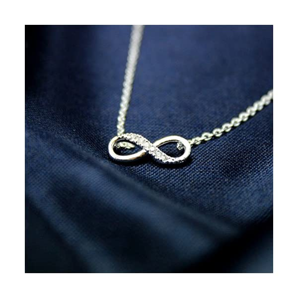 Infinite Necklace Necklace For Her Best Friend Necklace For 2 Bff