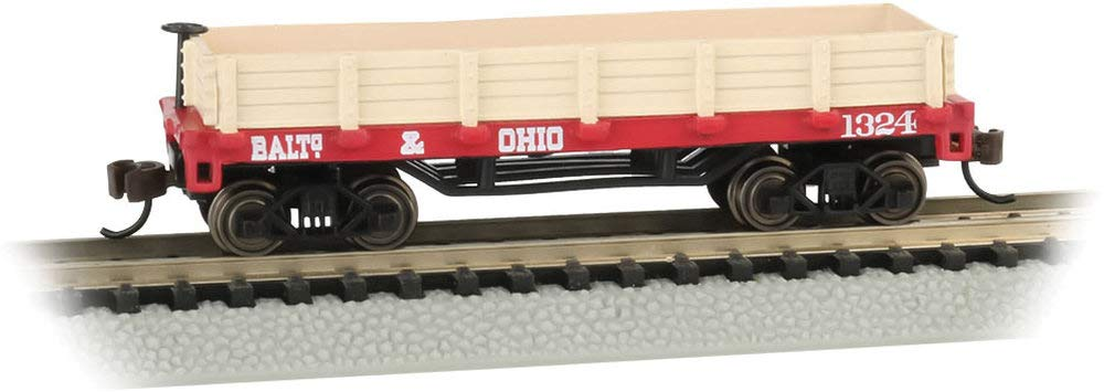 Old-Time Gondola Car Baltimore & Ohio - N Scale
