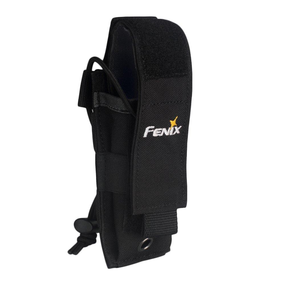 Fenix Flashlight Holster Pouch Holder Carry Case ALP-MT for Duty Belt TK09 TK15 TK15C PD32 PD35 TK09 LD12 LD22 SD10 E20 E25 E35 E35-UE (Black) by Fenix