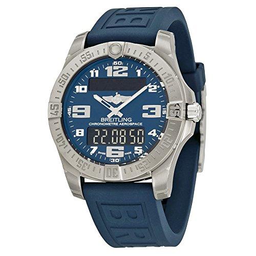 Breitling Men's BTE7936310-C869BLPT3 Aerospace Evo Analog Display Swiss Automatic Blue Watch
