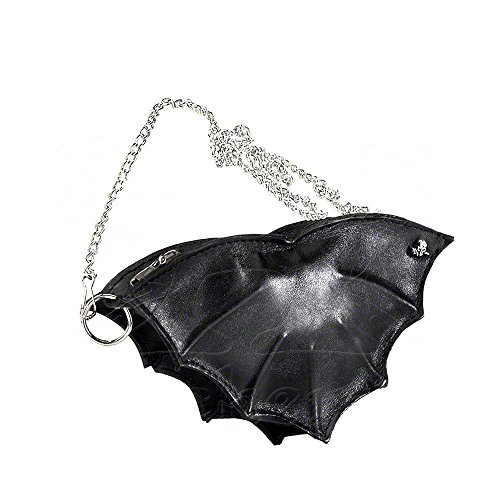 Alchemy Gothic-Bat portafoglio in pelle