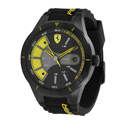 Ferrari Red Rev Evo Men's Quartz Watch 830266