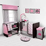 Best Bacati Baby Cribs - Bacati Elephants Pink/Grey 10 Piece Crib Set including Review
