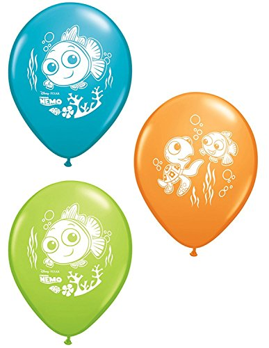 Disney Nemo's Coral Reef Latex Balloons Party Accessory