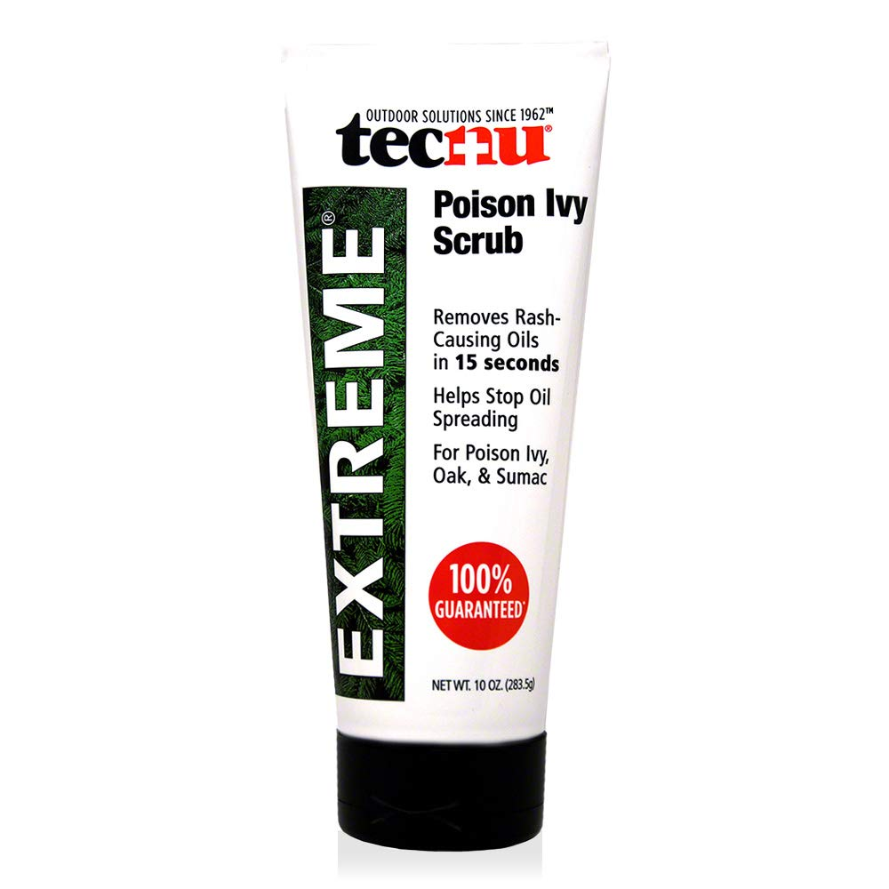 Tecnu Extreme Poison Ivy and Oak Scrub, Removes Poisonous Plant Oils That Cause Rash and Itching, 10 Ounces by Tec Labs