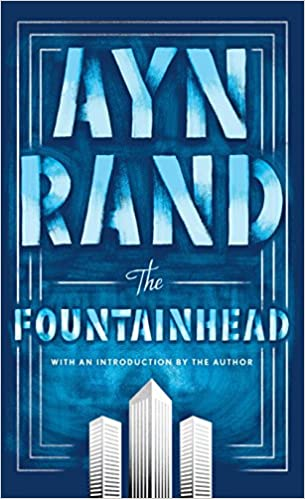 The Fountainhead by Ayn Rand book cover