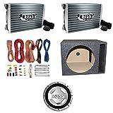 Boss Audio 1500 Watt Mono A/B MOSFET Power Car Amplifier + Remote   AR1500M