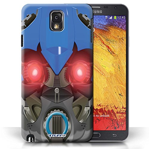 Etui / Coque pour Samsung Galaxy Note 3 / Bumble-Bot Bleu conception / Collection de Robots