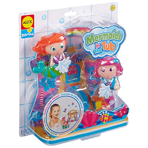 ALEX Toys Rub A Dub Mermaids in the Tub (Mermaid Bath Toy)