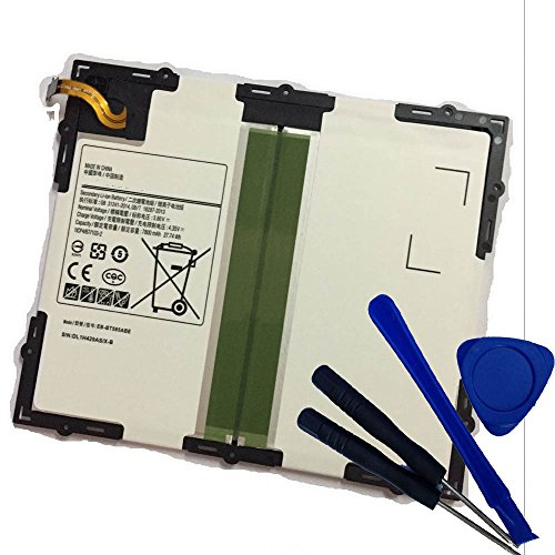 Powerforlaptop Internal Replace EB-BT585ABE/ ABE GH43-04628A Battery + Repair tools for Samsung SM-T580, SM-T585, Galaxy Tab A 10.1 2016 WiFi, Galaxy Tab A 10.1 2016 TD-LTE, SM-T580NZKAXAR, SM-T585C