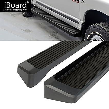 Off Roader Eboard Running Board 6 Black Fits 2009-2018 Dodge Ram 1500 Crew Cab Pickup 4-Door /& 2010-2018 Ram 2500 3500 Nerf Bar   Side Steps   Side Bars