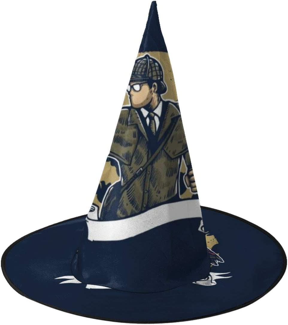 NUJSHF Sherlock Holmes Lupa de Loro Sombrero de Bruja Unisex ...