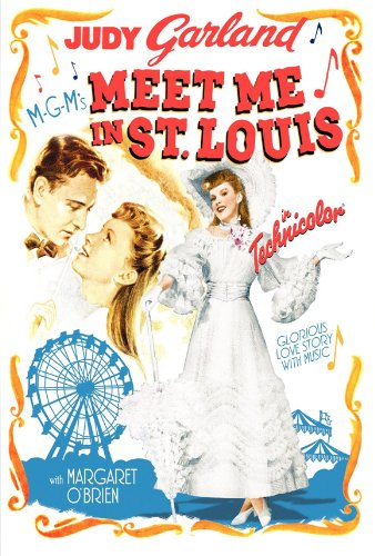 Meet Me in St. Louis Movie Poster (27 x 40 Inches - 69cm x 102cm) (1944) Style B -(Judy Garland)(Margaret O'Brien)(Mary Astor)(Lucille Bremer)(Tom Drake)(June Lockhart) Meet Me In St Louis Christmas