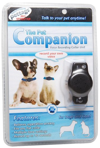pet-companion-voice-recording-and-playback-device-one-size-fits-all-black